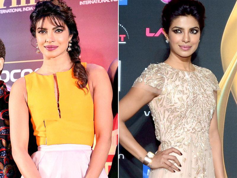 Priyanka Chopra looked well-turned out at all IIFA dos. Her hair tied neatly and dresses matching different events just fine, Priyanka was one big hit at IIFA this year. (Agencies)