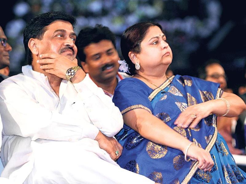 Ashok Chavan attended a musical tribute ceremony in memory of Sri Sathya Sai Baba in Mumbai.