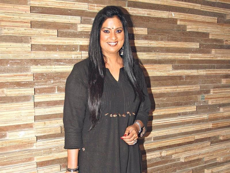 Richa Sharma strikes a pose.