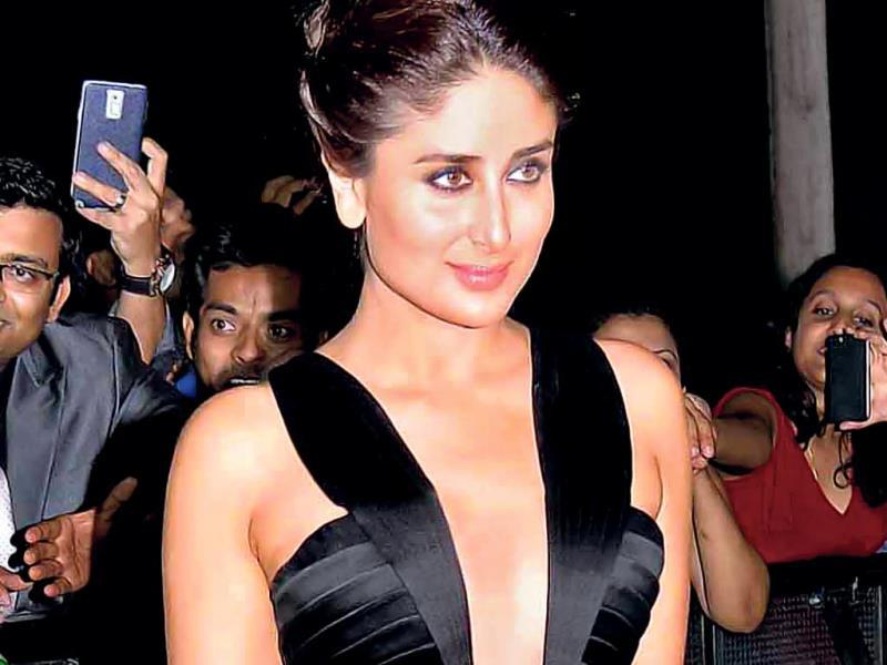 Kareena Kapoor's fierce Giorgio Armani look.