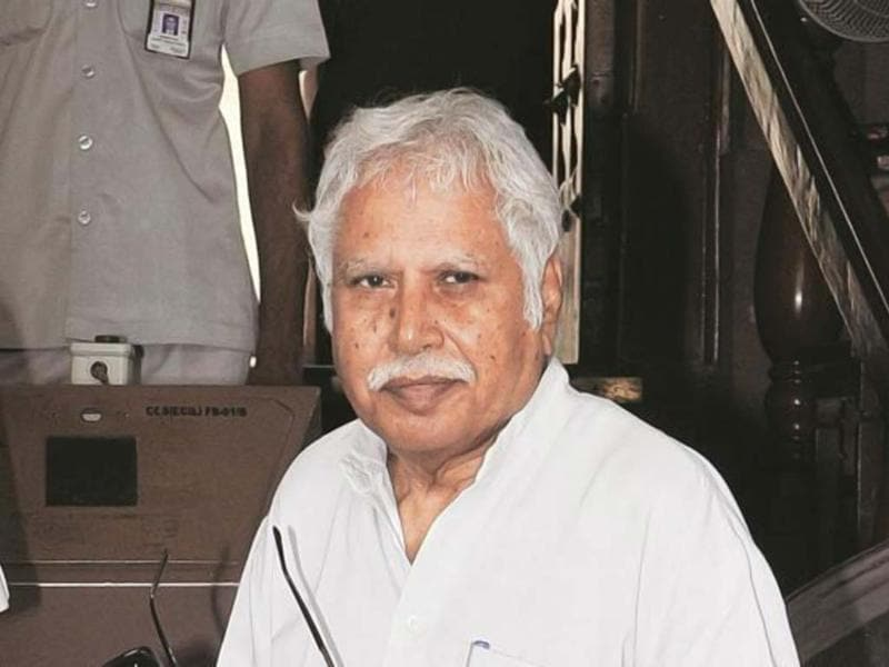 A file photo of Madhusudan Mistry, Congress candidate from Vadodara. (Agencies)