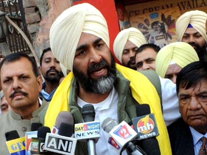 A file photo of People's Party of Punjab (PPP) president Manpreet Singh Badal. (AFP photo)