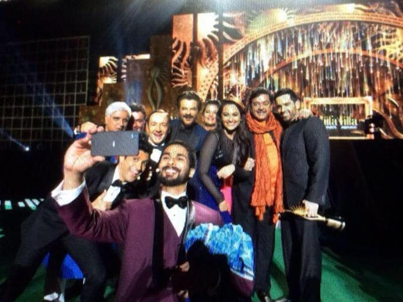 Shahid Kapoor clicked a selfie a la Ellen DeGeneres at IIFA recently.