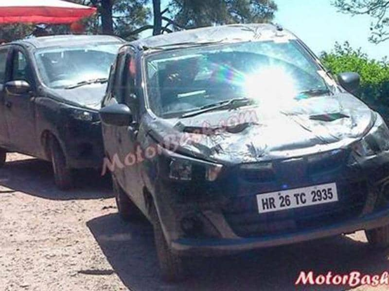 Maruti Alto 800 facelift takes shape