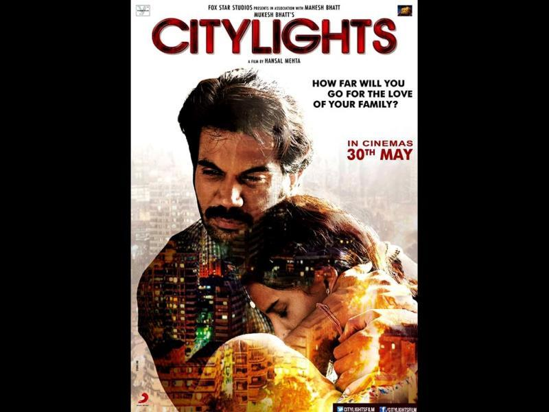 A poster of Citylights.