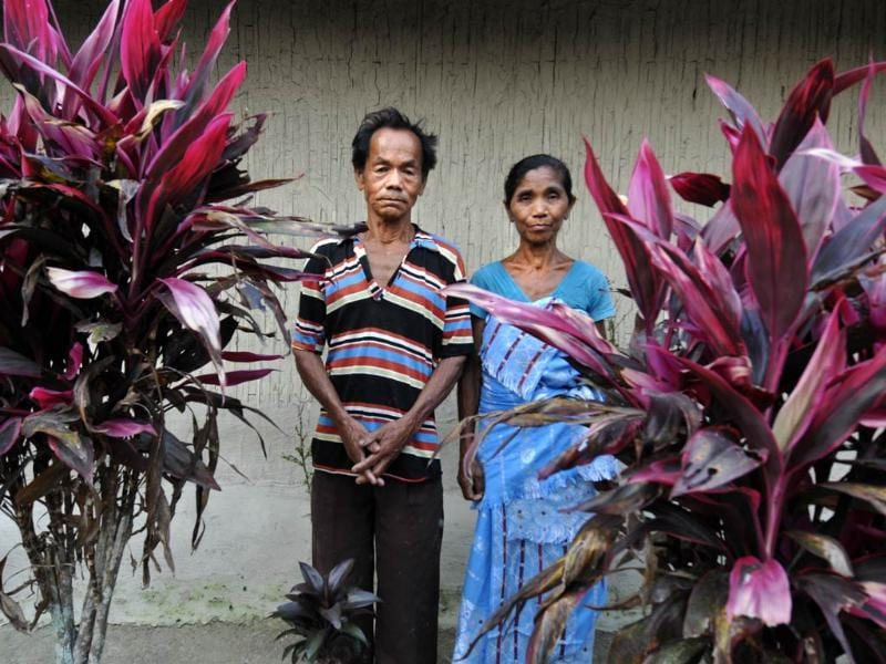 The imposed peace in the Kokrajhar region is fragile, a card castle which can fall any moment. On March 29, a 17-year-old Bodo girl was allegedly raped before being murdered in Chirang district (In pic: Parents of the victim). Within hours, two Bengali-speaking Muslim youth were killed in retaliation. (Subrata Biswas/HT Photo)