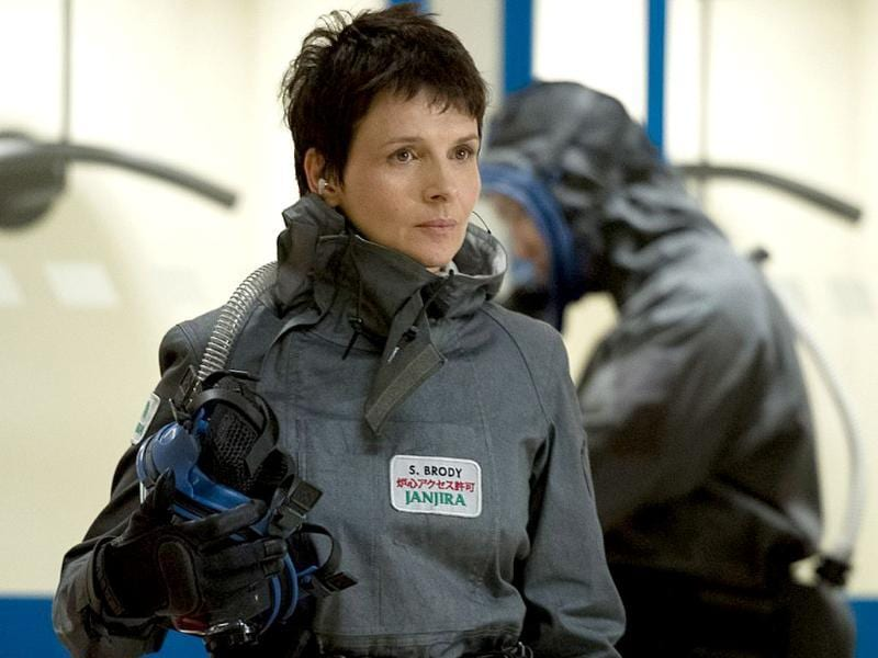Juliette Binoche is a nuclear regulations consultant in the film.