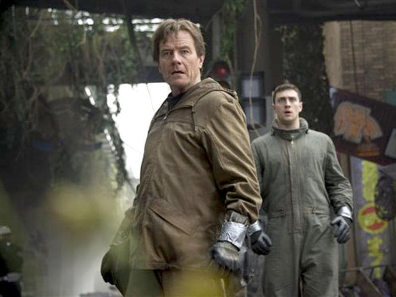 "Bryan Cranston and Aaron Taylor-Johnson play a father and son whose lives were torn apart during a so-called ""natural disaster"" 15 years ago."