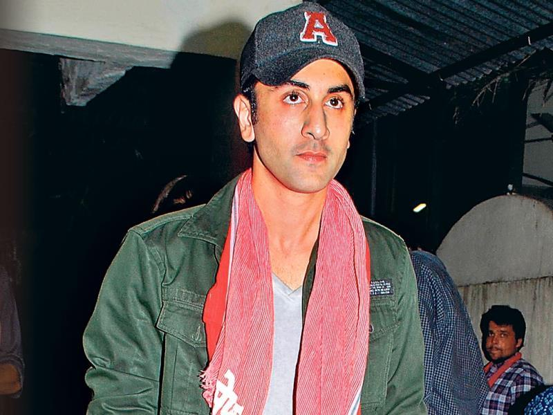 The stars are constantly being photographed, and they're well aware of it. So, there's no excuse then to be spotted in public looking like they're going for a jog, a swim or even to bed. Here are some of the latest offenders.Ranbir Kapoor: fashion sense of Ranbir Kapoor in gamcha left us scratching our heads at the event. (HT PHOTO)