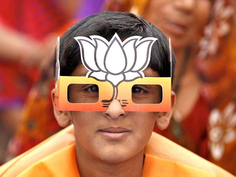 A whole new meaning to a BJP visionary