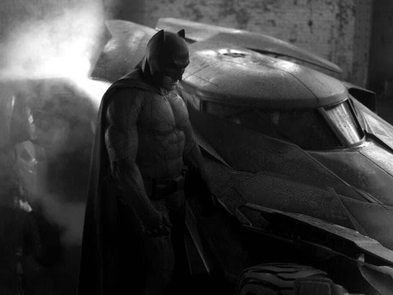 Ben Affleck as the new Batman. Zack Snyder shared this image in May. The picture went on to inspire jokes and memes on #SadBatman.
