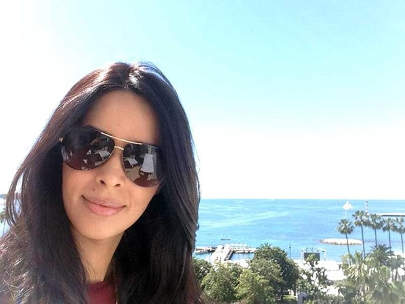 Mallika Sherawat is all set to walk the red carpet at the Cannes film Festival this year. (Photo courtesy: Twitter)