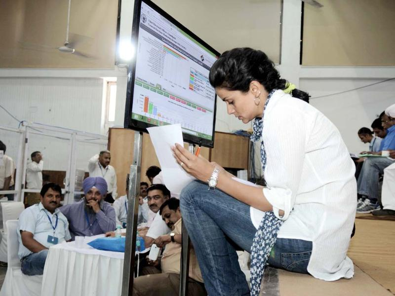 Gul Panag ponders over the long list of things that went wrong leading to her defeat in Chandigarh. (Ravi Kumar/HT Photo)