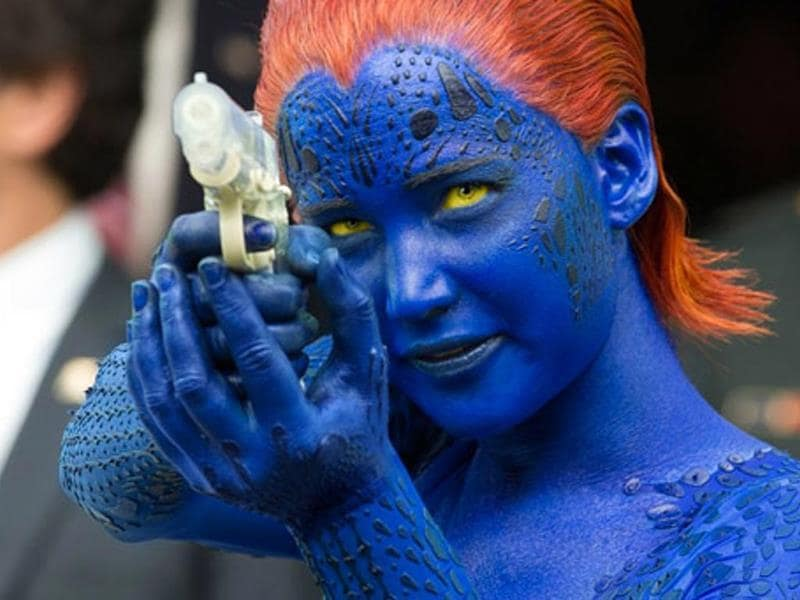 Queen of the cyber perverts Jennifer Lawrence will once again essay the inimitable (pun intended) role of Mystique