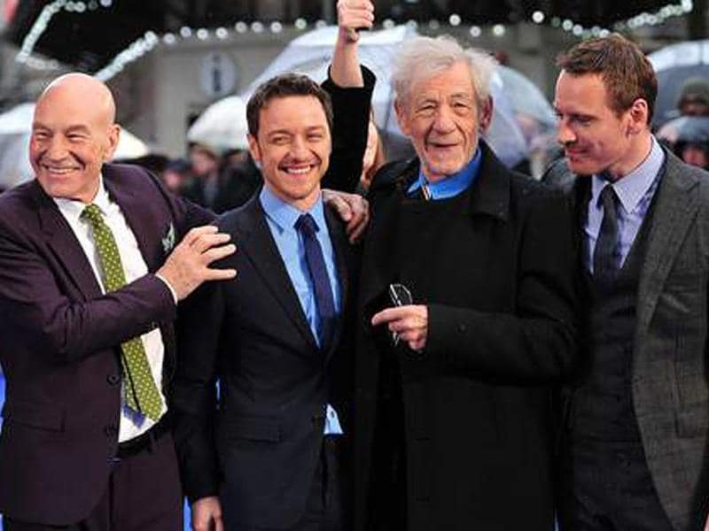 Two Professors (James McAvoy and Patrick Stewart) and two Magnetos (Ian McKellen and Michael Fassbender), young and old who are all reprising their roles.