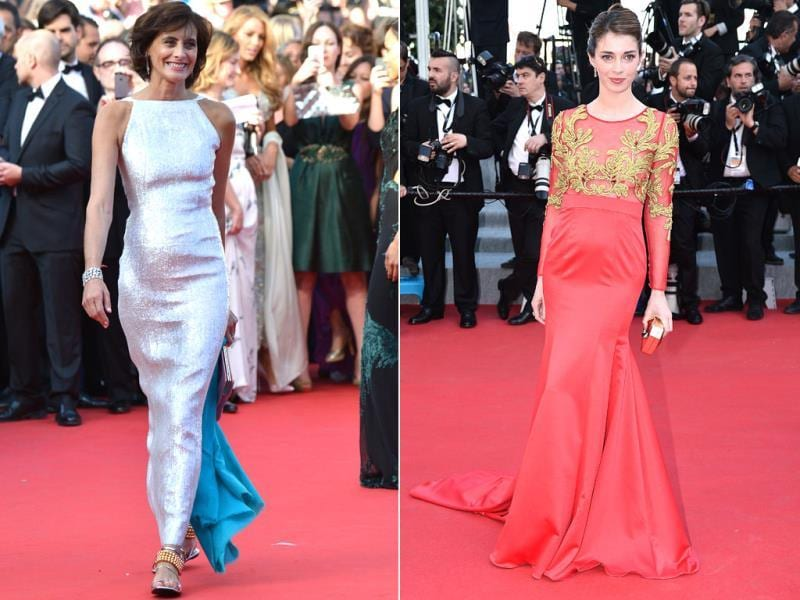 Lets have a look at the style statement at Cannes this year. Browse through.