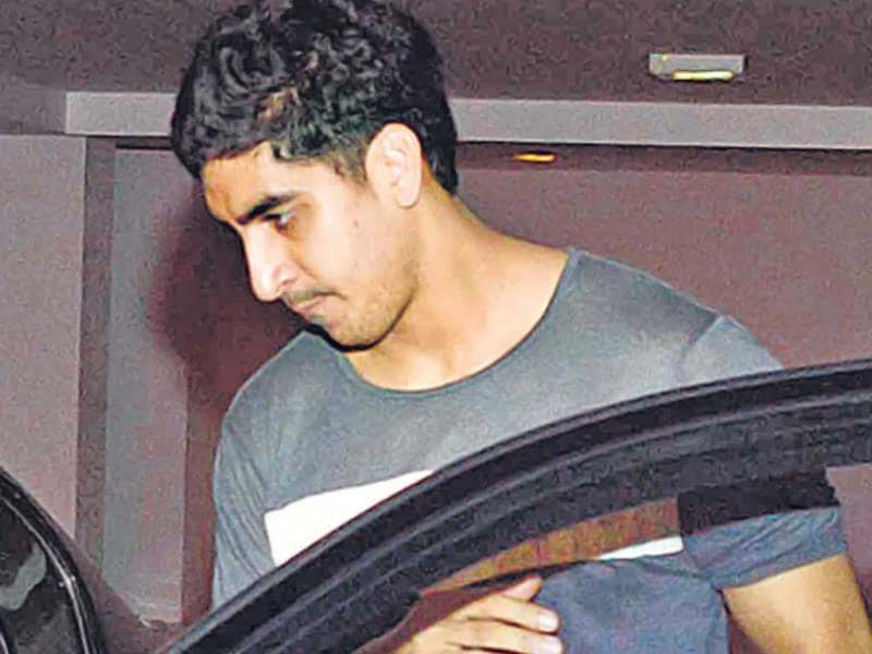 Ayan Mukerji accompanied Ranbir and Katrina in a separate car. (Photo: Viral Bhayani)