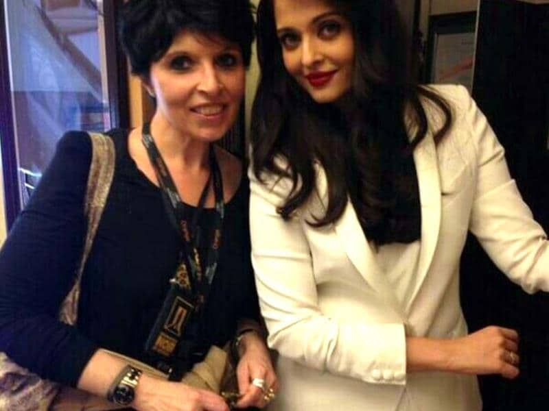 Aishwarya Rai Bachchan at a press meet at Cannes. The actor will make her red carpet appearance on May 20.