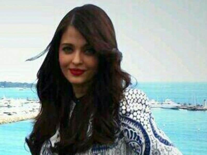 Aishwarya Rai Bachchan strikes a pose at Cannes. She will mark her appearance at the Cannes Film Festival on May 20.