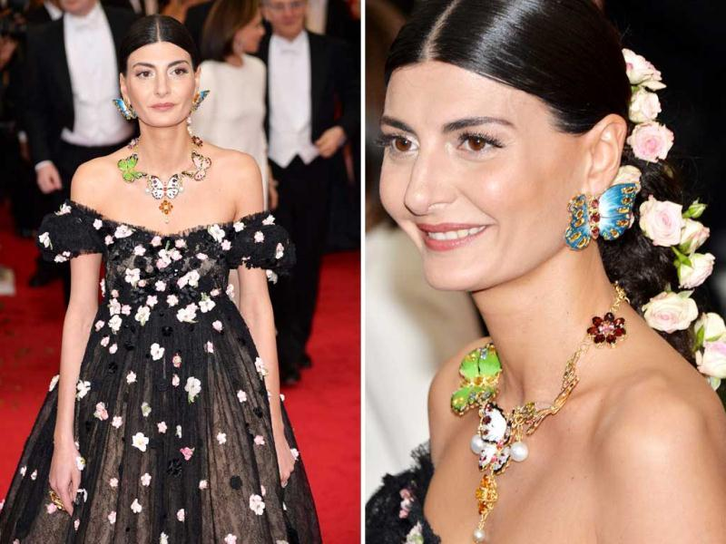 Take a look at the edgiest creations recently seen on global ramps.Italian fashion editor Giovanna Battaglia arrives for the 2014 Anna Wintour Costume Center Gala held at the New York Metropolitan Museum of Art in New York. (Agency)