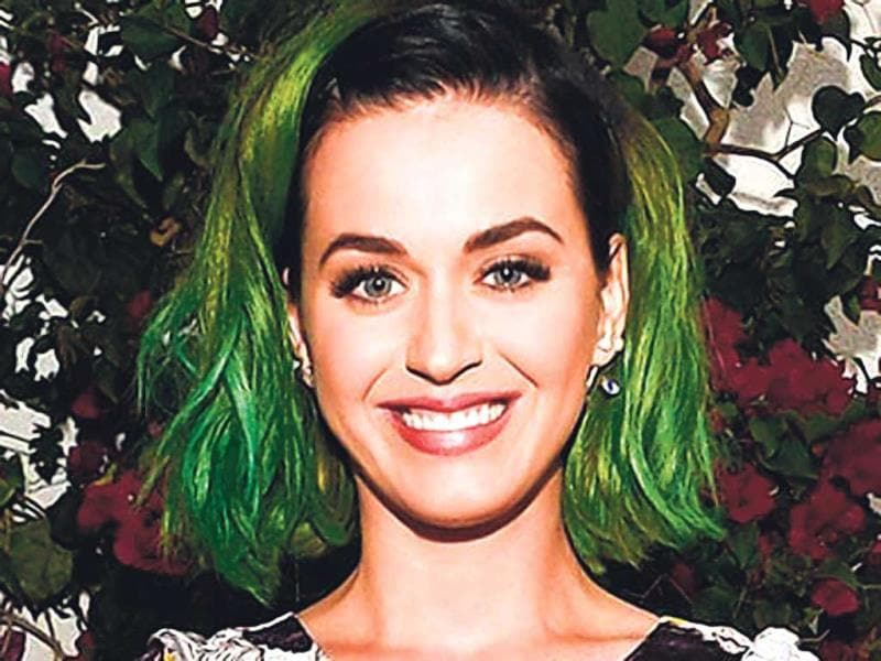 So, let Hollywood be your reference point — whether it be the risque-ready Rihanna or Miss always-­changing-it-up Katy Perry, take hair inspiration and go for pastel hues for your locks. (Agency Photo)In picture: Katy Perry