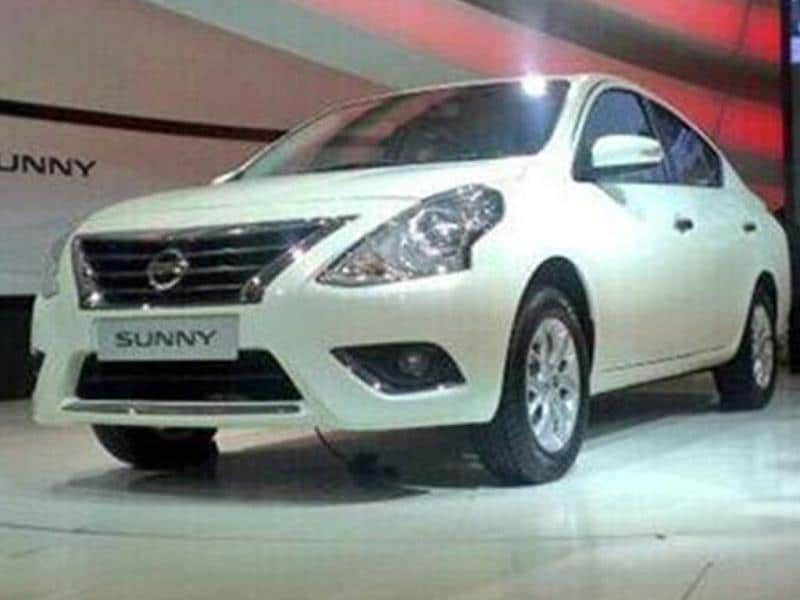 Nissan to launch Sunny facelift next month