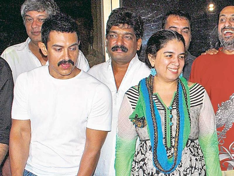 Aamir-Reena: They got married in 1986 and divorced in 2002 but still share a good rapport.