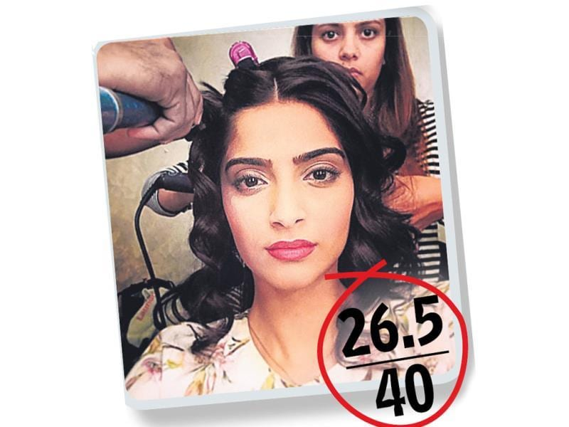Sonam KapoorDabboo: 5 Rahul: 8Rohit: 7Tarun: 6.5Sonam's selfies give her fans a peek into what she is upto.