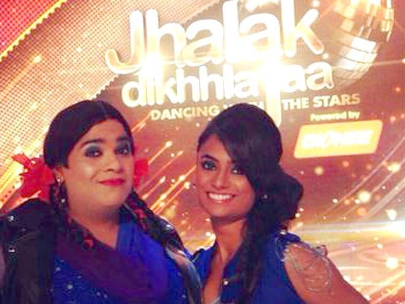 He has impressed us already with his flexible dance moves in Nach Baliye. We are sure Kiku Sharda aka Palak and his choreographer Kruti will charm his fans this time too. (Photo courtesy: Twitter)