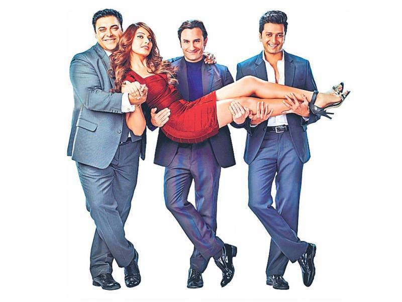 As Saif, Riteish and Ram meet their humshakals, not one but two each, all hell breaks loose.