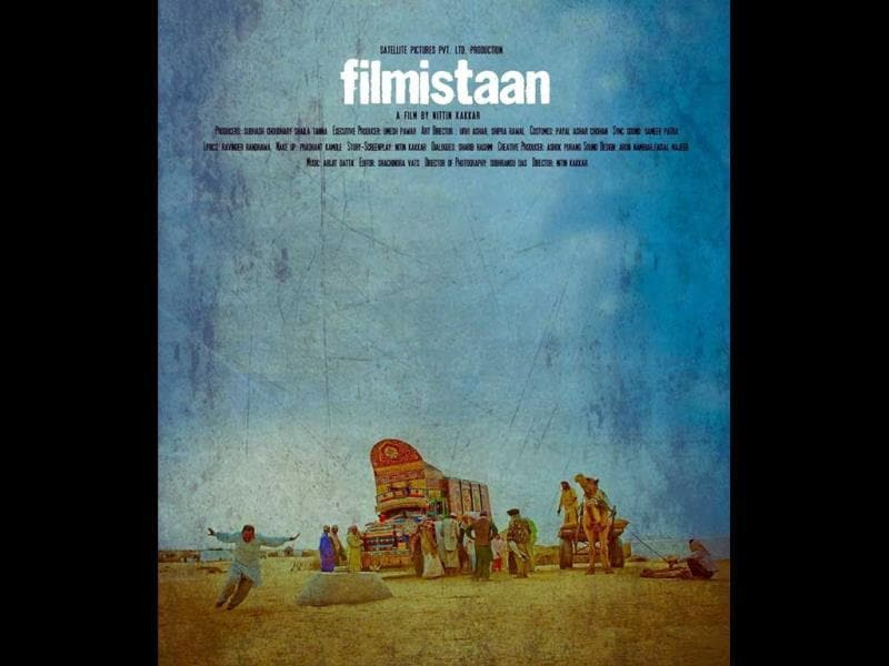 Filmistaan is a debut offering by director Nitin Kakkar. The film was first released at the Busan International Film Festival in 2012. (Photo courtesy: Facebook/Filmistaan)