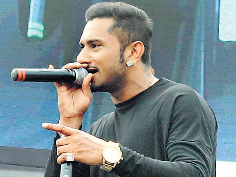 Rapper Honey Singh was in Mumbai to celebrate World Environment Day. (HT Photo/ Yogen Shah)