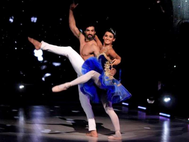 Coming to contestant performances, Shakti Mohan's ballet was quite a stand-out. (Photo courtesy: Colors)