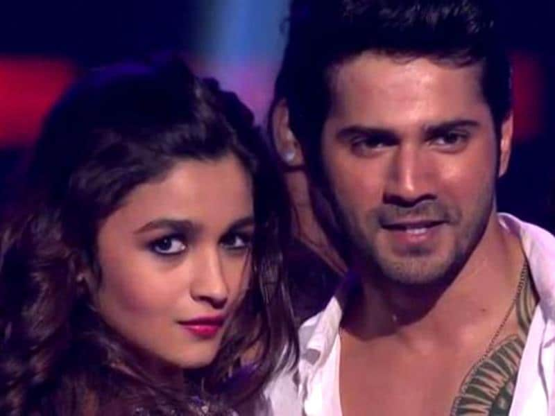 Humpty Sharma and his dulhaniya (Varun Dhawan, Alia Bhatt) launched their much awaited song Saturday Saturday. (Photo courtesy: Colors)