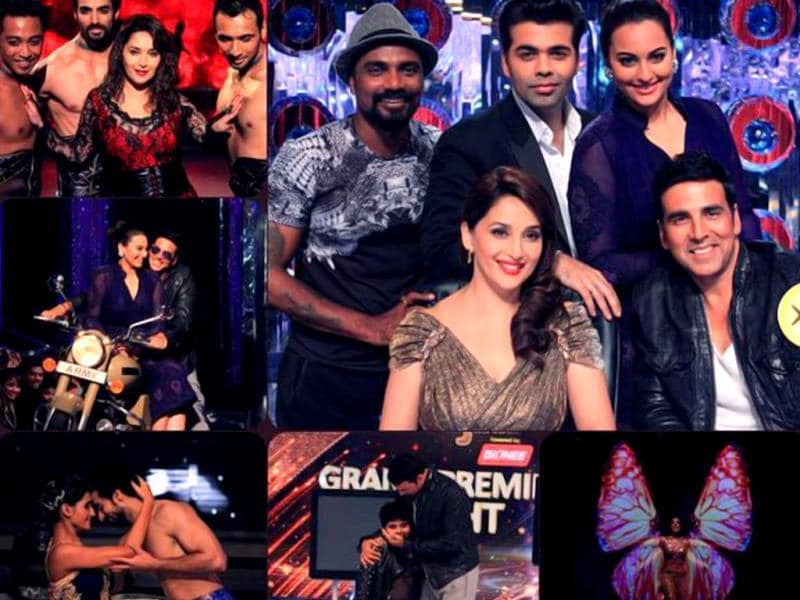 The grand premiere weekend of Jhalak Dikhhla Jaa was full of dance, entertainment and Akshay Kumar's mind blowing energy -- all packed into two episodes. (Photo courtesy: Colors)