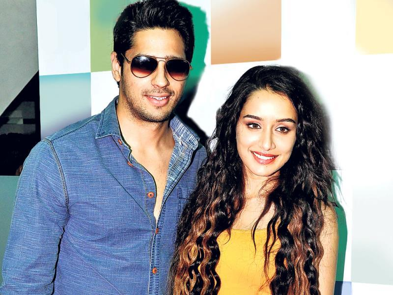 Sidharth Malhotra and Shraddha Kapoor seen together. (Photo: Prodip Guha)
