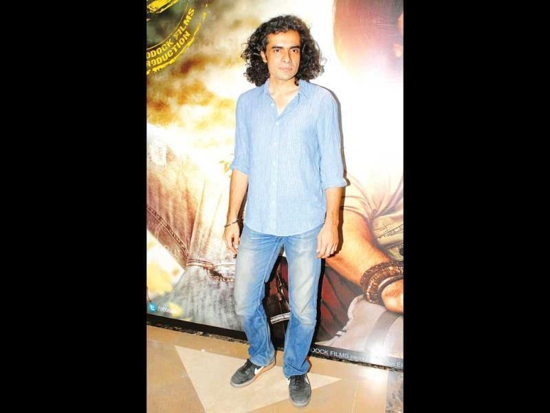 Imtiaz Ali strikes a pose. (Photo: Prodip Guha)