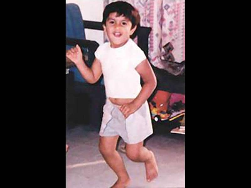 As Ranveer Singh celebrates his 29th birthday on Sunday, we bring out some of his childhood pics that he shared on his Facebook account. Ranveer breaks into a jig for the camera. (Photo: Facebook/RanveerSinghOfficial)