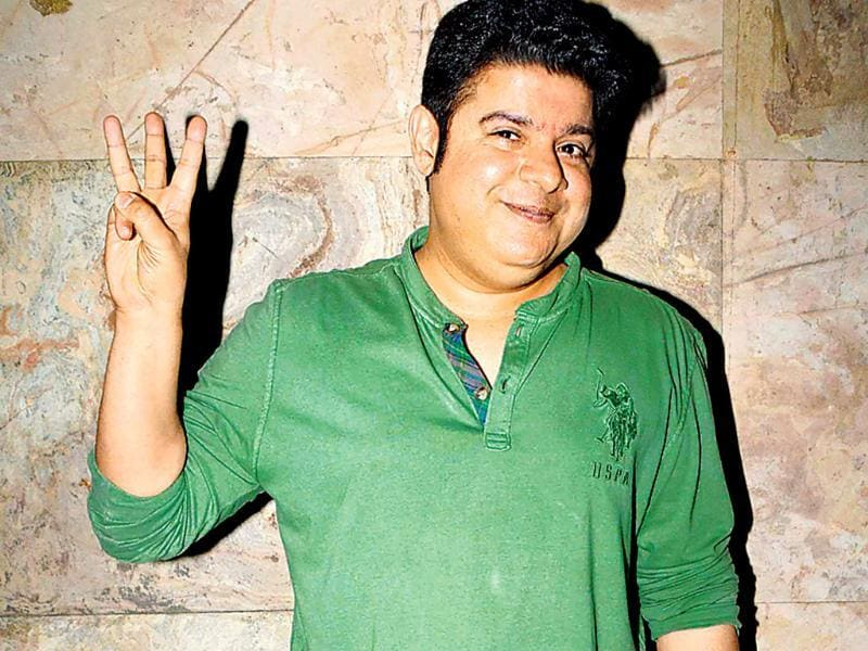 Sajid Khan at the screening of his film in Mumbai. (HT Photo)