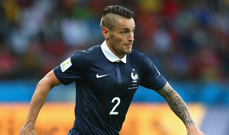 Mathieu Debuchy, France  Debuchy is carrying the old military look with a heavy mop, with lots of gel to keep it in place. (Getty Images)