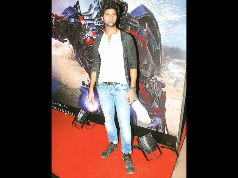 Purab Kohli spotted at a movie screening in Mumbai. (Photos: Prodip Guha)