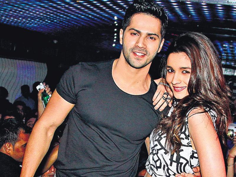 Actors Varun Dhawan and Alia Bhatt were recently spotted shaking a leg with Delhiites at an event in the Capital.