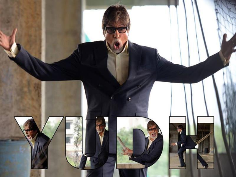 Amitabh Bachchan makes his fiction debut on the small screen with Anurag Kashyap's Yudh.