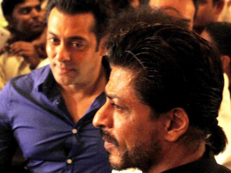 Friends again? After hugging each other at an event in Mumbai, Salman Khan was heard saying that he has always liked SRK.