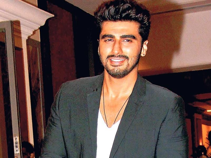 Arjun Kapoor is all smiles.