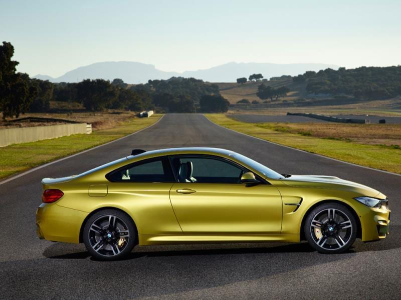 BMW M4 €70,000/$95,000 : Every generation of 'M' badged BMW has one thing in common, it's great on the track. Not just fun to drive with predictable handling, but also easy on the wear and tear where things like brakes and tires are concerned. The M4 is no exception and thanks to a stunning specifications list, ticking the right boxes will give you a car that's as easy to race as it is for a whole family to live with. Photo:AFP