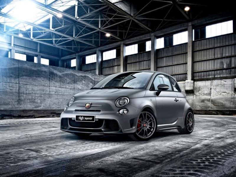 The Abarth 695 biposto Something a little different. A track car doesn't have to be rear-wheel drive, it just has to be nimble, responsive and not carry too much excess or unnecessary weight. Based on the current racing car, this particular Abarth is as close as a consumer can get to driving the real thing without passing a racing licence. The only real compromise the company has made in its development is making it meet the requisite road requirements so that it can be driven, rather than transported to and from a track. (around €44,100/$60,000)