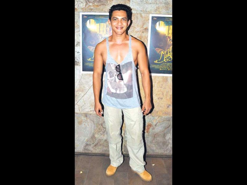 The ugly: Aditya Narayan at a film screening on July 11 | OURTAKE: We'd cringe seeing Aditya like that even in the gym, so wearing this in public is something we find even harder to digest.