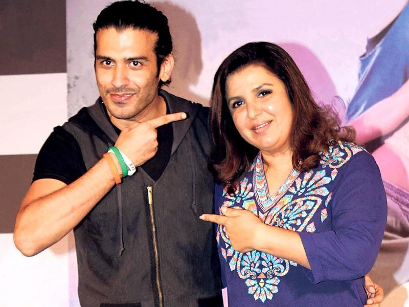 Saahil Prem and Farah Khan were at a promotion of the movie, Mad About Dance (Photo: Yogen Shah)