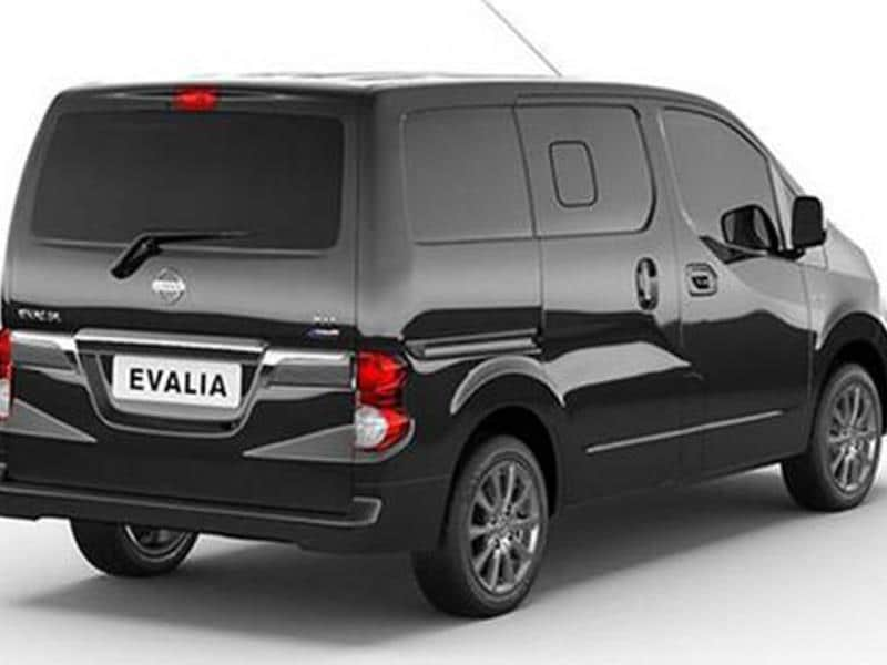 Nissan launches updated Evalia